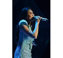 Sarah G. in Blue Photographic Print