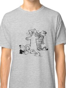 calvin and hobbes b N w Classic T-Shirt