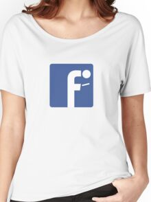 F-posture: take your eyes off your smartphone Women's Relaxed Fit T-Shirt