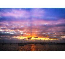 Sunrise Geelong Photographic Print