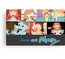 Jessica and Morty Canvas Print