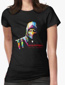 Mortal Kombat - Scorpion Womens Fitted T-Shirt
