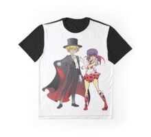 Sailor Lady x Tuxedo Noir  Graphic T-Shirt