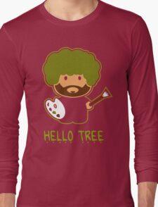 HAPPY TREE T SHIRT Long Sleeve T-Shirt