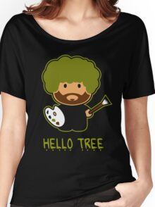 HAPPY TREE T SHIRT Women's Relaxed Fit T-Shirt