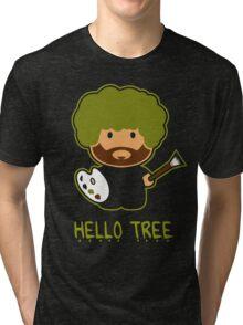 HAPPY TREE T SHIRT Tri-blend T-Shirt