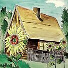 'Country Cottage' by jansimpressions