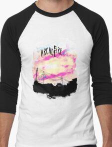 Arcade Fire T-shirt Men's Baseball ¾ T-Shirt
