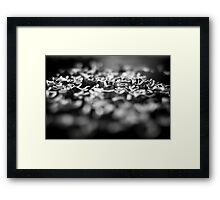 Through it all, love comes shining through... Framed Print