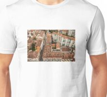 Torino from above Unisex T-Shirt