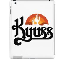 KYUSS BLACK WIDOW STONER ROCK QUEENS OF THE STONE AGE CLUTCH  iPad Case/Skin