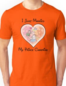 Just Married My Prince Charming Unisex T-Shirt