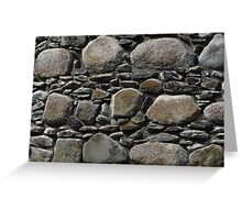 Stone Walls, Inverlochy Castle Greeting Card