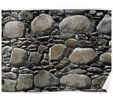 Stone Walls, Inverlochy Castle Poster