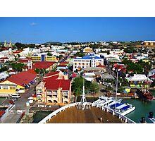 Bow to Antigua Photographic Print