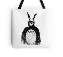 Donnie Darko Totoro Mash Up Tote Bag
