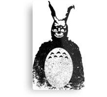 Donnie Darko Totoro Mash Up Metal Print