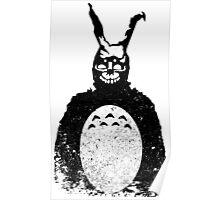 Donnie Darko Totoro Mash Up Poster