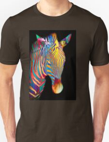 Orange Zebra Unisex T-Shirt