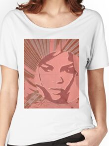 Barbadian girl Women's Relaxed Fit T-Shirt