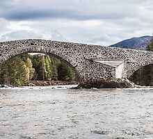 Old Bridge of Dee by Douglas McMann