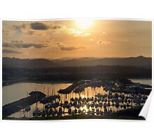 Coffs Harbour Sunset Poster