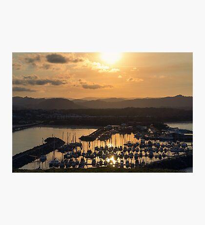 Coffs Harbour Sunset Photographic Print