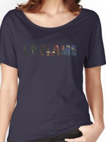 Travi$ Scott - La Flame Writing Women's Relaxed Fit T-Shirt