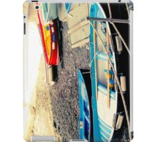 Boats by the beach iPad Case/Skin