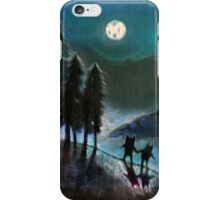 Moonlight Monsters II iPhone Case/Skin