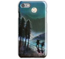 Moonlight Monsters II iPhone Case/Skin