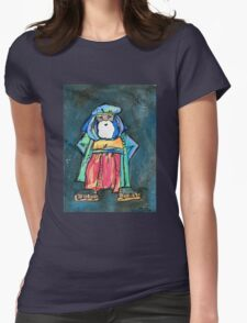 In the desert you need a guide Womens Fitted T-Shirt