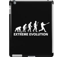 Funny Baseball Evolution iPad Case/Skin