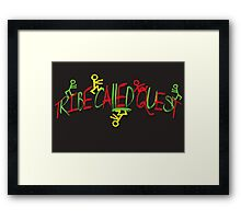 TRIBE CALLED QUEST  Framed Print