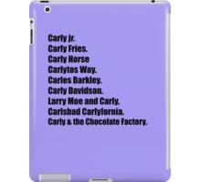 CARLY DAVIDSON iPad Case/Skin