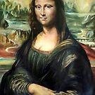 Monna Lisa after Leonardo da Vinci by Hidemi Tada