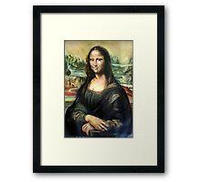 Monna Lisa after Leonardo da Vinci Framed Print