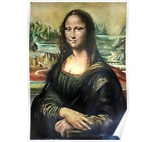 Monna Lisa after Leonardo da Vinci Poster