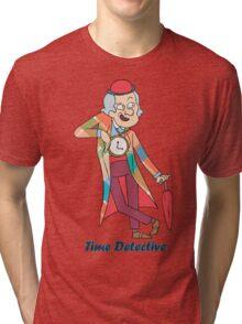 time detective Tri-blend T-Shirt