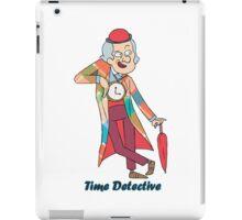 time detective iPad Case/Skin
