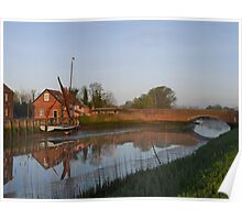 The Quay  Snape Maltings   Suffolk Poster