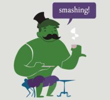 SMASHING HULK! by MissusCC