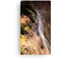 a grand imaginary canyon Canvas Print