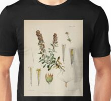 The botany of the Antarctic voyage of H M  discovery ships Erebus and Terror in the Years 1839 1843 Joseph Dalton Hooker V1 098 Unisex T-Shirt