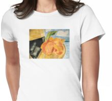 Beach Hat Womens Fitted T-Shirt