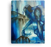 The Blue Giant Canvas Print