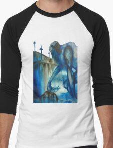 The Blue Giant Men's Baseball ¾ T-Shirt