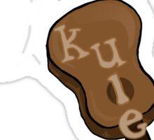 I <3 U(kuleles) Sticker