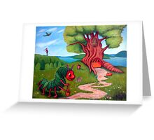 The Very Hungry Caterpillar All Grown Up Greeting Card