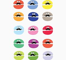 Mustache macarons Women's Fitted Scoop T-Shirt